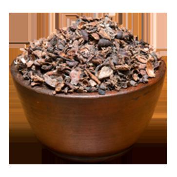 Cocoa Shell and Broken Bean